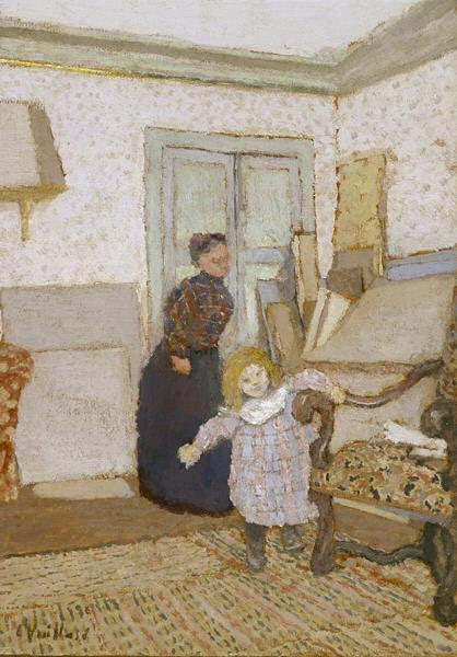 Edouard Vuillard First Steps